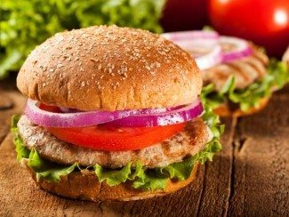 High Protein Turkey Burger