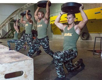 army boot camp workout