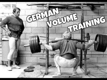 german volume training to build muscle and strength