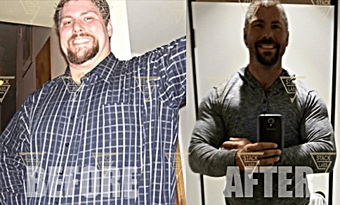 Before & After Results from Stack Labs Bulking Stack