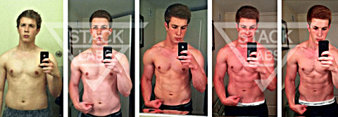 Before & After Results from Stack Labs Cutting Stack