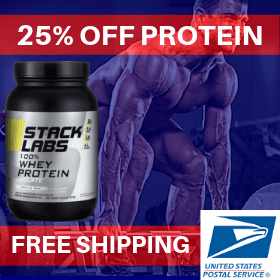 25% off Whey Protein Powder