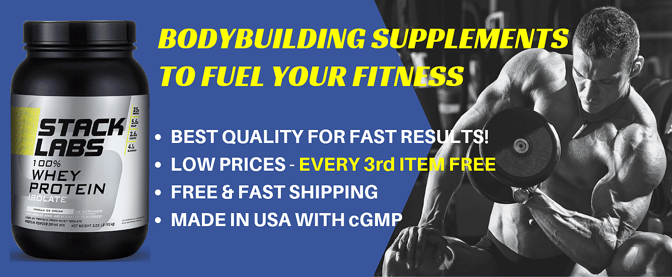 Buy Bodybuilding Supplements For Sale Online